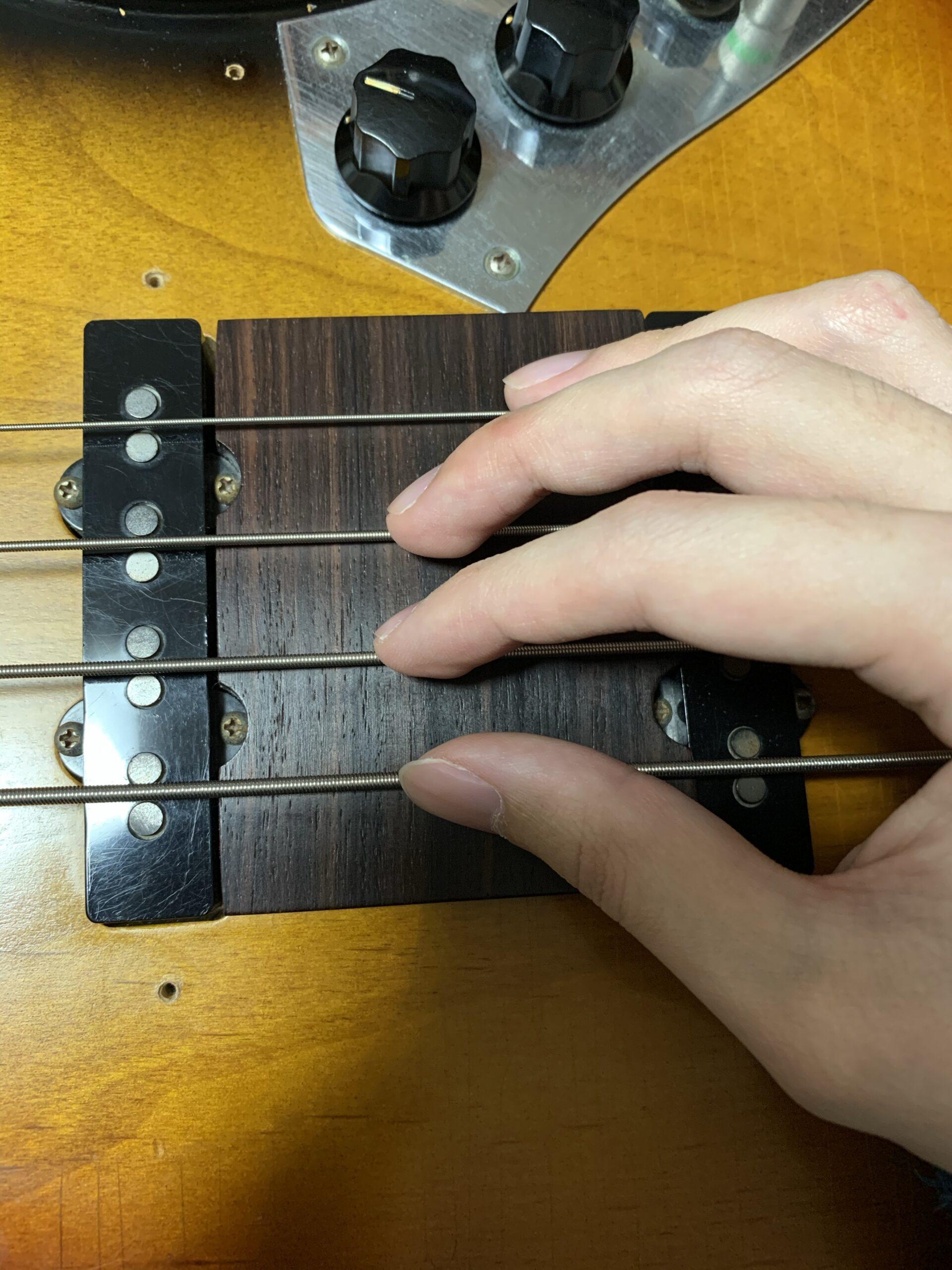 ベース奏法4フィンガーまとめ